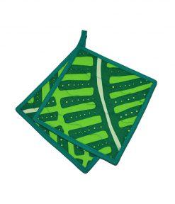 grytlapp abstrakt mönster grön