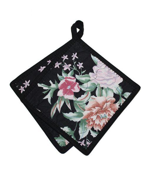 grytlapp svart blomma